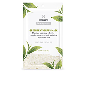 Face mask BEAUTY TREATS green tea therapy mask Sesderma