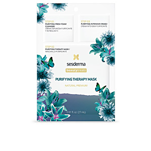 Matifying Treatment Cream - Face mask BEAUTY TREATS purifiying therapy mask Sesderma