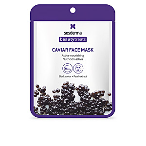 Face mask BEAUTY TREATS black caviar mask Sesderma