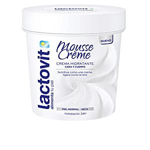 Tratamiento Facial Hidratante LACTOVIT ORIGINAL MOUSSE CREME cara & cuerpo Lactovit