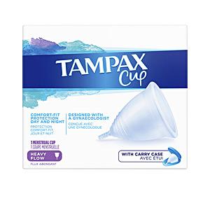 Menstrual cup TAMPAX COPA flujo menstrual abundante Tampax