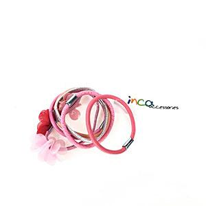 Goma de pelo ELÁSTICOS #rosa Inca