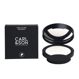 Compact powder FACE FILTER invisible Carl&son