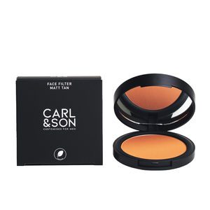 Bronzing powder FACE FILTER matt tan Carl&son