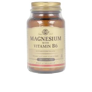 Complemento vitamínico MAGNESIO + B6 comprimidos Solgar