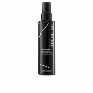 Hair straightening treatment STYLE shiki worker blow dry serum Shu Uemura