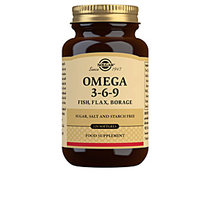 Omegas and fatty acids OMEGA 3-6-9 perlas Solgar