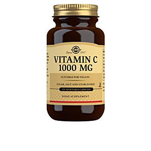 Complemento vitamínico VITAMINA C 1000mg. cápsulas vegetales Solgar