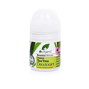 Deodorant BIOACTIVE ORGANIC tea tree deodorant roll-on Dr. Organic