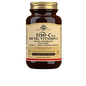 Complemento vitamínico ESTER-C PLUS 500mg. cápsulas vegetales Solgar