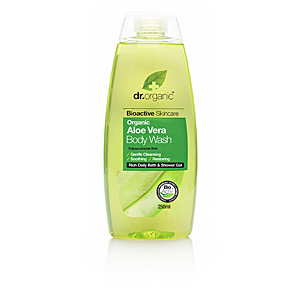Gel bain BIOACTIVE ORGANIC aloe vera body wash Dr. Organic