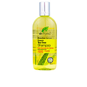 Purifying shampoo BIOACTIVE ORGANIC tea tree shampoo Dr. Organic