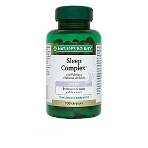 Otros suplementos SLEEP COMPLEX con valeriana y bálsamo de limón cápsulas