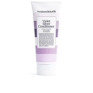 Acondicionador color  VIOLET SILVER conditioner for blonde & grey hair Waterclouds