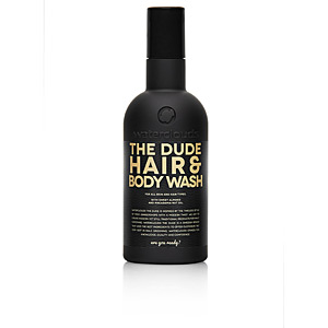 Shower gel - Moisturizing shampoo THE DUDE HAIR & BODY WASH for all skin & hair types Waterclouds