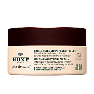 Hidratação corporal RÊVE DE MIEL baume-huile corps fondant au miel Nuxe
