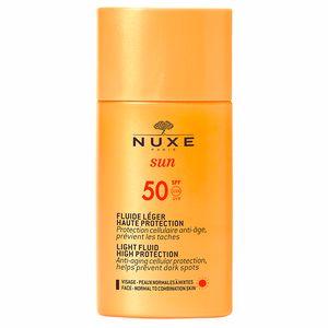 Faciales NUXE SUN fluide léger haute protection SPF50 Nuxe