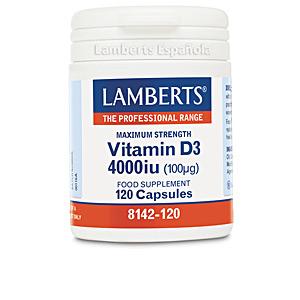 Vitamine VITAMINA D3 4000 UI (100µg) cápsulas Lamberts