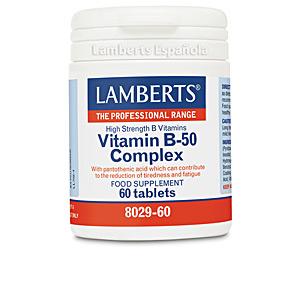 Witaminy COMPLEJO DE VITAMINAS B-50 cápsulas Lamberts