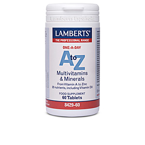 Vitamins - Minerals and trace elements A-Z multivitaminas & minerales cápsulas Lamberts