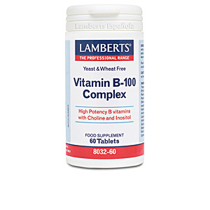 Witaminy COMPLEJO DE VITAMINAS B-100 cápsulas Lamberts