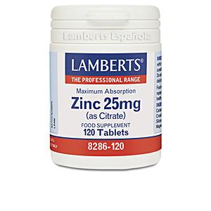 Nahrungsergänzungsmittel ZINC 25 mg cápsulas Lamberts