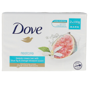 Savon parfumé GO FRESH JABON CREMA HIGO & NARANJA COFFRET Dove