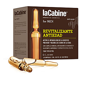 Anti aging cream & anti wrinkle treatment LA CABINE FOR MEN ampollas revitalizante anti-edad La Cabine