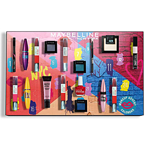 Set de maquillaje - Calendario de adviento MAYBELLINE ADVENT CALENDAR Maybelline