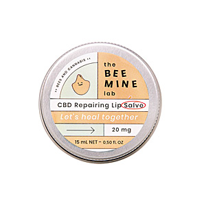 Lip balm BÁLSAMO REPARADOR labial CBD The Beemine Lab
