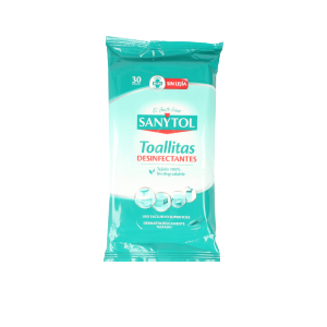 Multipurpose cleaner SANYTOL toallitas desinfectantes Sanytol