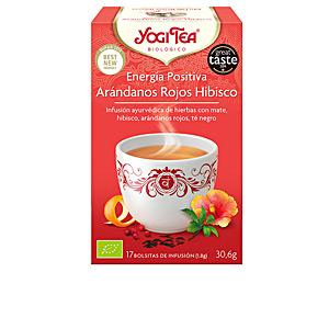 Bevande ENERGÍA POSITIVA arándanos hibisco infusión Yogi Tea