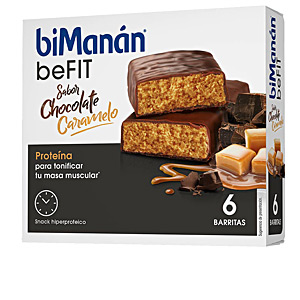 Bar BE FIT barritas #caramelo Bimanán