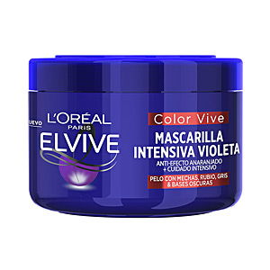Hair mask ELVIVE COLOR-VIVE VIOLETA mascarilla intensiva L'Oréal París
