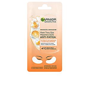 Mascarilla Facial SKINACTIVE mask tissu ojos antifatiga x 2 parches Garnier