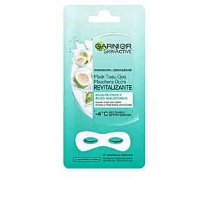 Face mask SKINACTIVE mask tissu ojos revitalizante x 2 parches Garnier