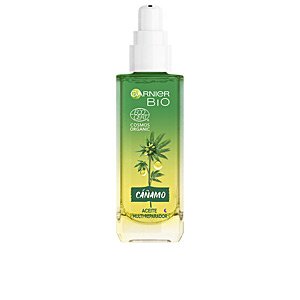 Antifatigue facial treatment - Face moisturizer BIO ECOCERT cáñamo aceite noche multi-reparador Garnier