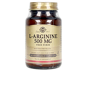 Amino-acids and proteins L-ARGININA 500 mg cápsulas vegetales Solgar