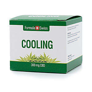 First Aid Product COOLING 300mg CBD Formula Swiss