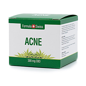 Acne Treatment Cream & blackhead removal - Matifying Treatment Cream ACNE 300mg CBD Formula Swiss
