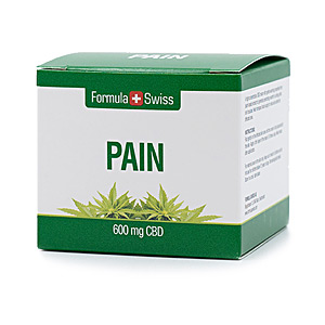 First Aid Product PAIN 600mg CBD Formula Swiss