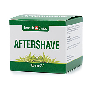 After shave AFTERSHAVE 300mg CBD Formula Swiss