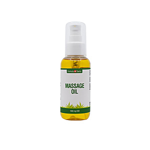 Idratante corpo MASSAGE OIL 1000mg CBD