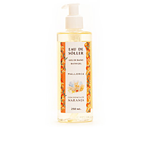 Hand soap EAU DE SÓLLER gel baño esencia de naranja Eau De Sóller