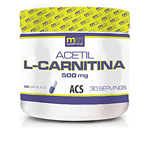 Bloqueador de grasas ACETYL L carnitine 90 cápsulas Mm Supplements