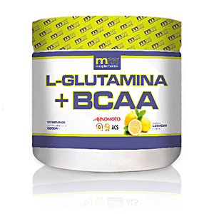 Glutamina, BCAAS, rozgałęzione GLUTAMINA + BCAA #lemon Mm Supplements