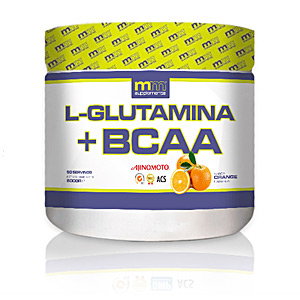 Glutamina, BCAAS, ramificados GLUTAMINA + BCAA #orange Mm Supplements