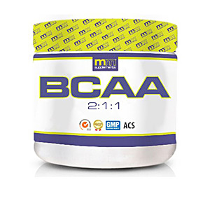 Glutamina, BCAAS, ramificados BCAA 2:1:1 tabletas Mm Supplements