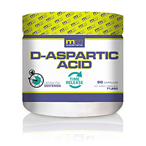 D-ASPARTIC acid 90 cápsulas