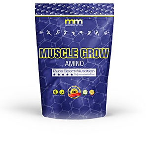 Aminoácidos esenciales, EAA - Glutamina, BCAAS, ramificados MUSCLE GROW amino #watermelon Mm Supplements